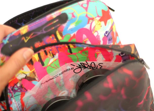 MAC Illustrated Bag Indie 184, inside lining