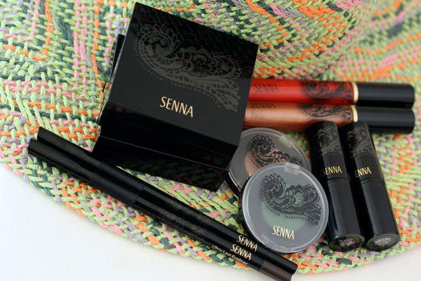 Senna Cosmetics Sunglow Collection