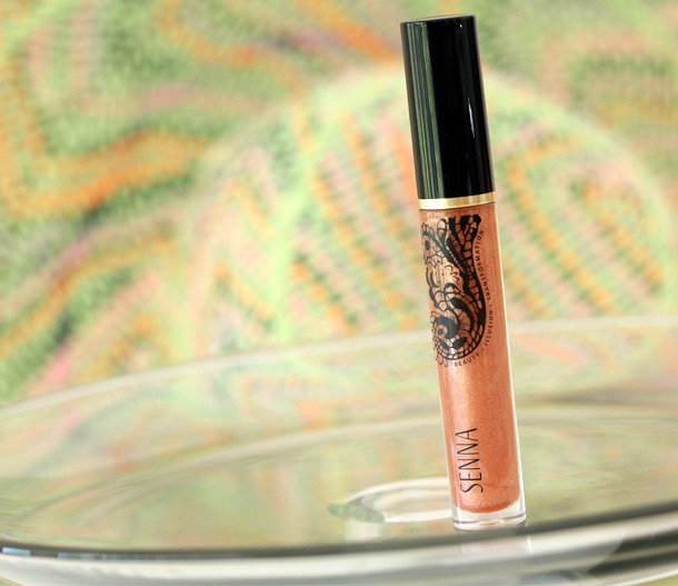 Senna Sunstone Lip Lacquer from the Sungold Color Collection