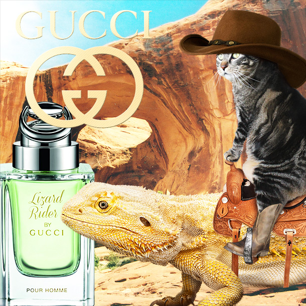 Tabs for Gucci Lizard Rider Perfume