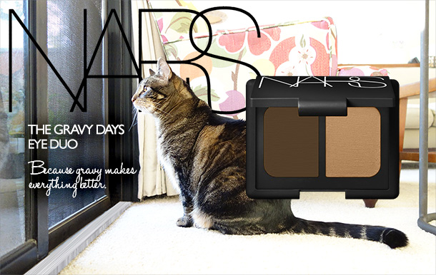 Tabs for the NARS Gravy Days Eye Duo