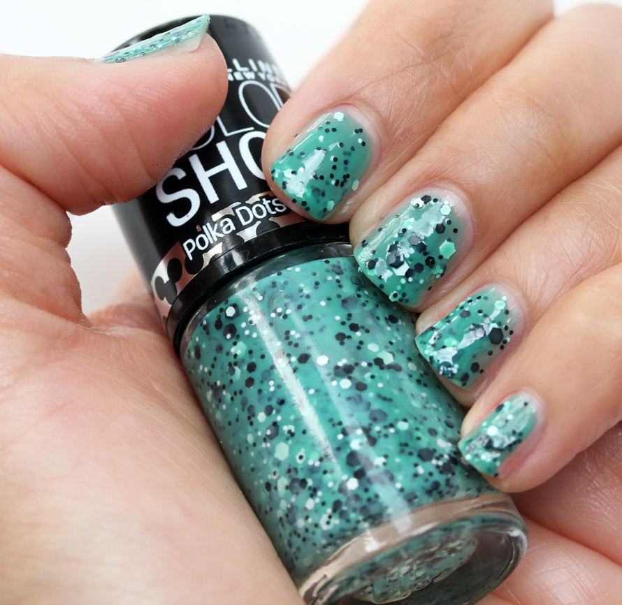 Maybelline Drops of Jade Color Show Polka Dots Nail Polish