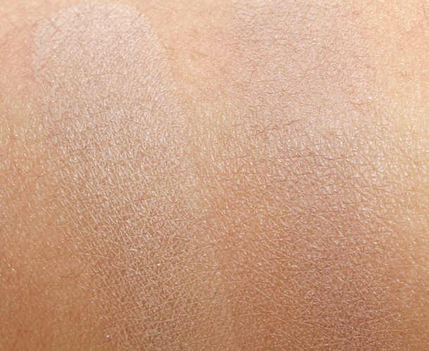 NARS Yamal on the left and Urban Decay Buck on the right