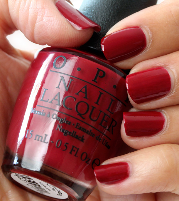 Black Nail Polish Color Names: OPI San Francisco Collection Review, Swatches, Pictures