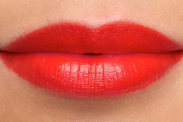 Revlon Fire & Ice Lipstick swatch