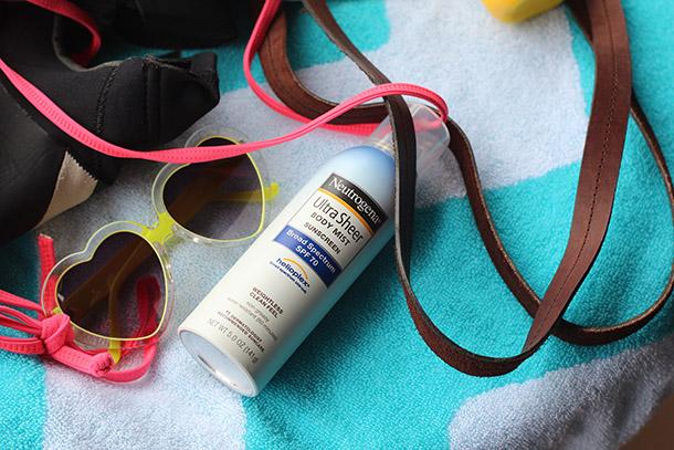 Neutrogena Ultra Sheer Body Mist Sunscreen Broad Spectrum SPF 70