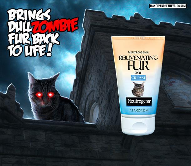 Tabs the Cat for Neutrogena Rejuvenating Fur Cream