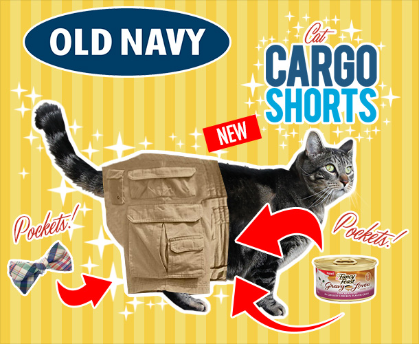 Tabs for Old Navy Cat Cargo Shorts