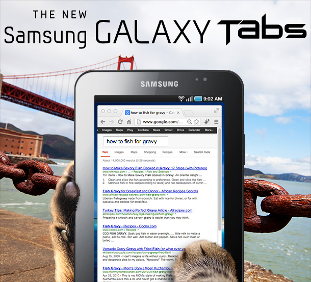 Tabs for the Samsung Galaxy Tabs