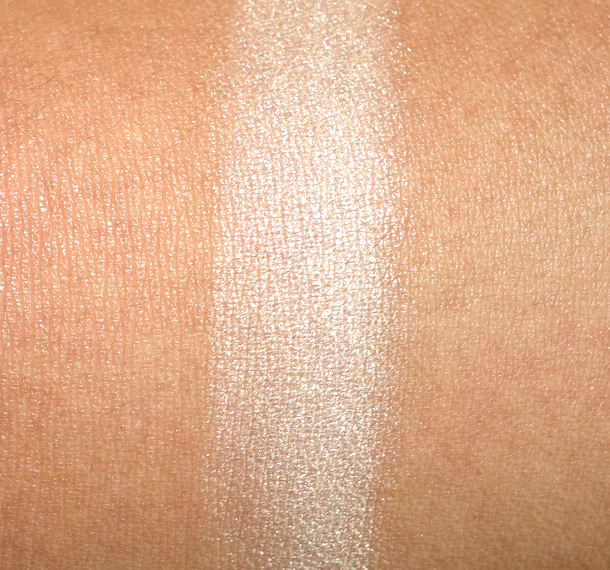 Becca Moonstone Shimmering Skin Perfector Pressed Swatch