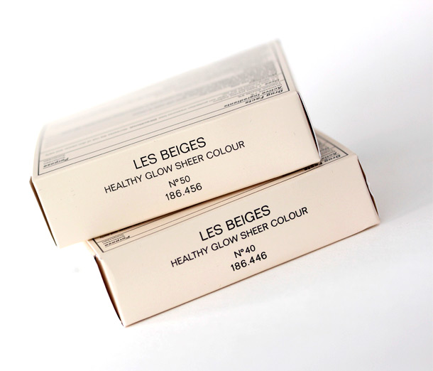 Chanel Les Beiges Packaging