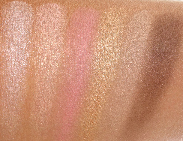 MAC Antonio Lopez: 6 Eyes/Bronze Swatches