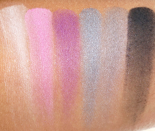 MAC Antonio Lopez: 6 Eyes/Violet Swatches