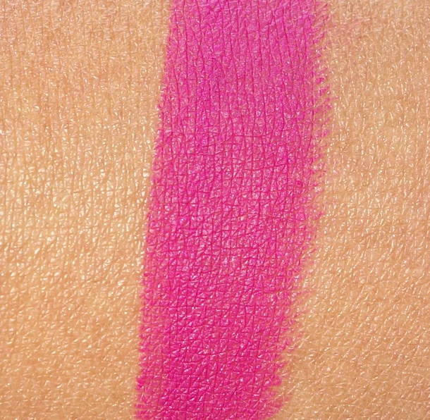 MAC Flat Out Fabulous Matte Lipstick Swatch