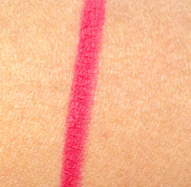 MAC Trust in Red Pro Longwear Lip Pencil Swatch