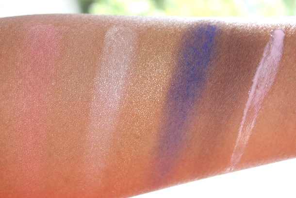 NARS Loves Los Angeles Swatches