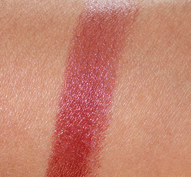 Sonia Kashuk Satin Luxe Lip Color in Spiced Berry Swatch