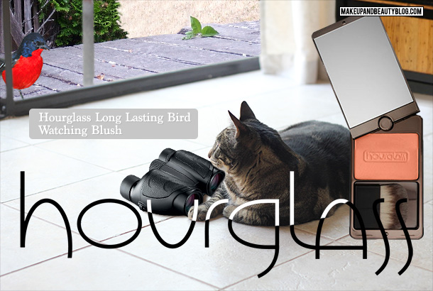 Tabs the Cat for Hourglass Cosmetics Long Wearing Bird Watching Blush
