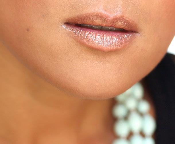 Dolce & Gabbana Classic Cream Lipstick in Topaz, a golden amber