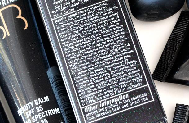 MAC Prep + Prime Beauty Balm SPF 35 Ingredients