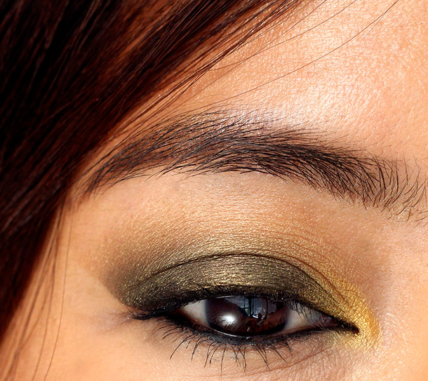 Maybelline Eye Studio in Desert Fantasy Eye Closeup