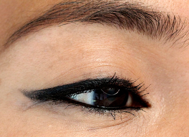 NARS Black Valley eye closeup