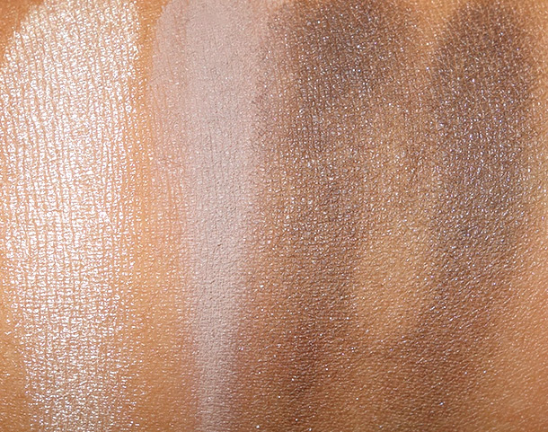 RiRi Hearts MAC Smoked Cocoa swatches