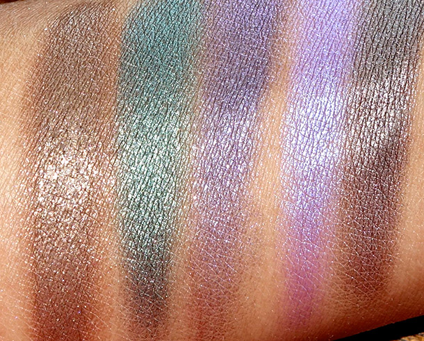 Urban Decay Vice 2 swatches 2