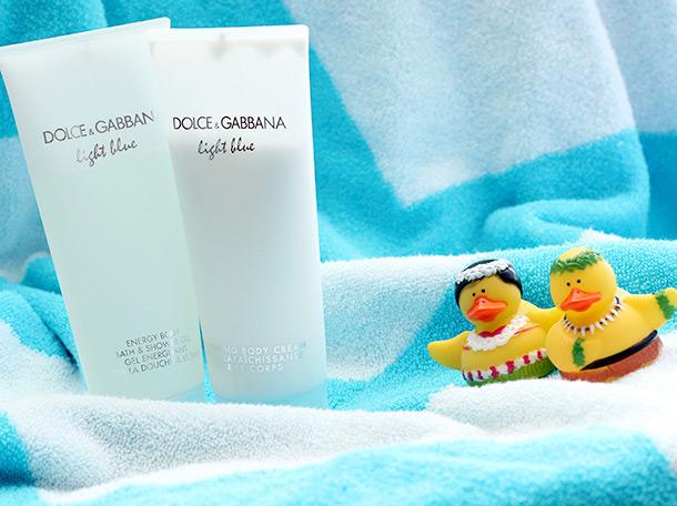 Dolce & Gabbana Light Blue Energy Body Bath & Shower Gel and Refreshing Body Cream