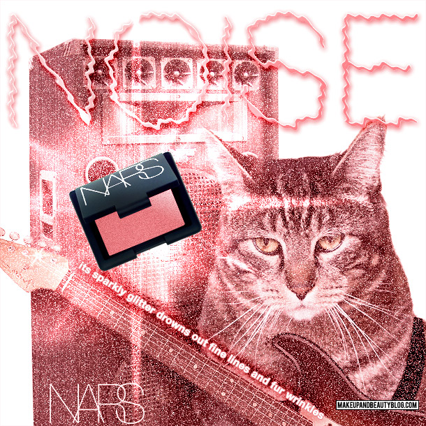 Tabs for NARS Fur Blush in Noise