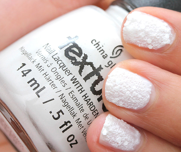 China Glaze Happy HoliGlaze Collection: There's Snow One Like You