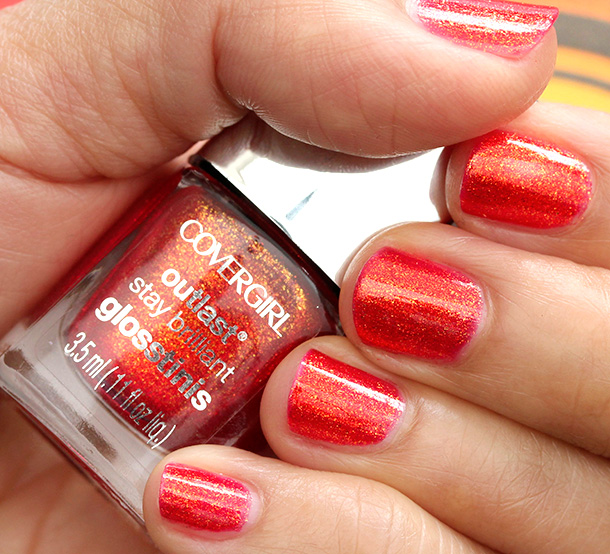 Covergirl Hunger Games Rogue Red Swatch