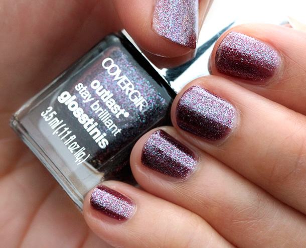 Covergirl Hunger Games Collection: Violet Flicker Nail Polish