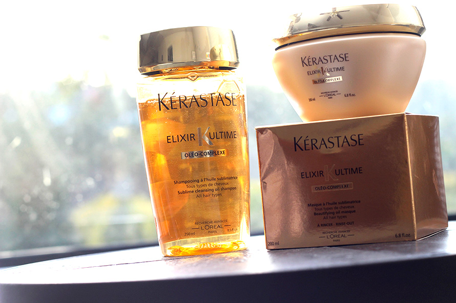 Latest hair obsessions kerastase bain elixir ultime for Kerastase bain miroir conditioner