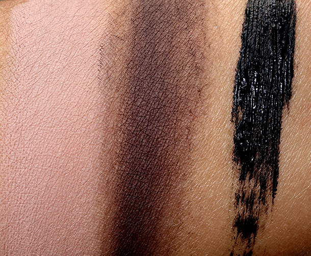 MAC Stroke of Midnight Eye Bag in Nude Swatches