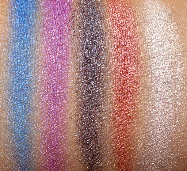 NARS Guy Bourdin Swatches Cinematic Eyeshadows