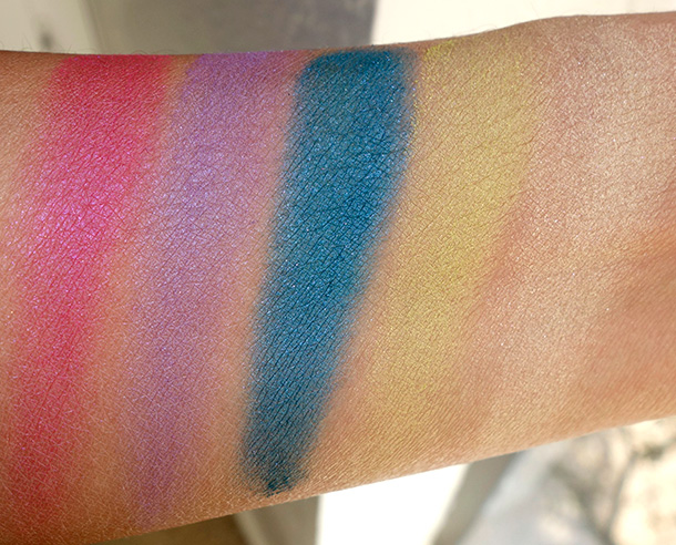 POPBeauty Bright Up Your Life Palette in Bright Delight Swatches