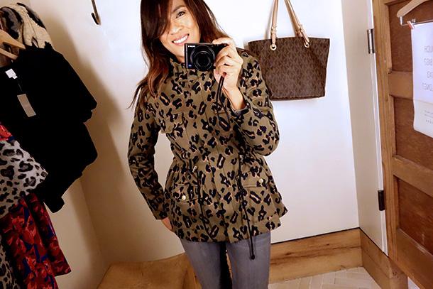 Tabitha Petite Leopardeau Jacket