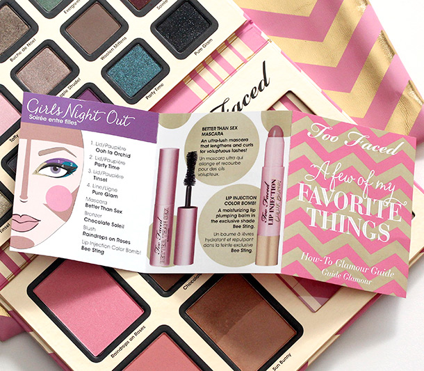 Too Faced A Few of My Favorite Things Booklet 2