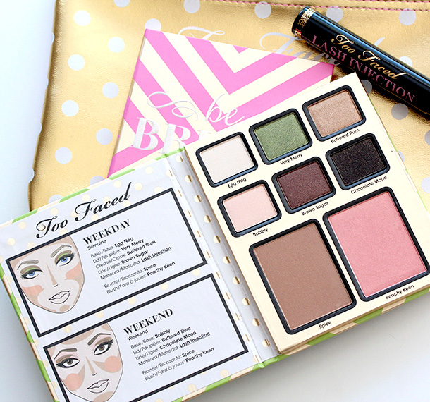 Too Faced Be Merry Be Bright