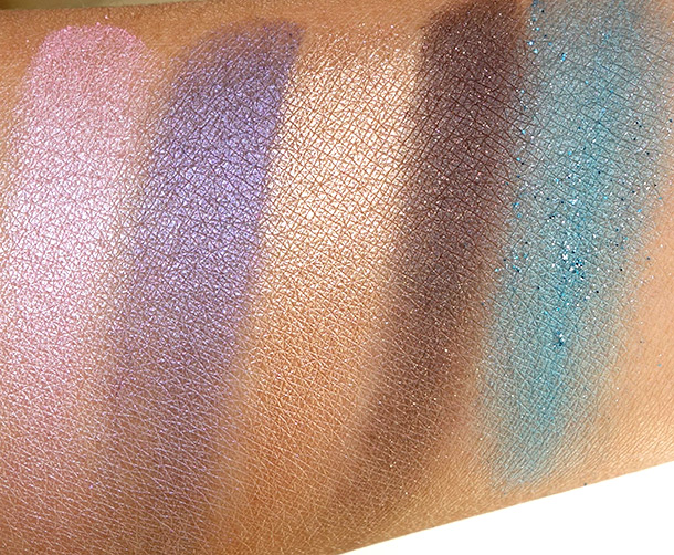 Too Faced Jingle All the Way Swatches 2