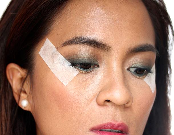 crisp cat eyeliner edge