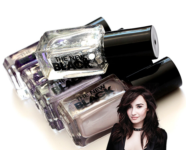 The New Black Demi Lovato Holiday Nail Polish Collection