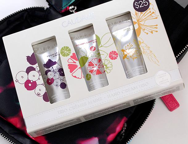 Caudalie Hand Cream Trio Box