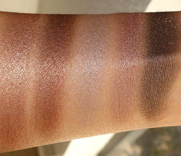 Clarins The Essentials Eye Palette swatches