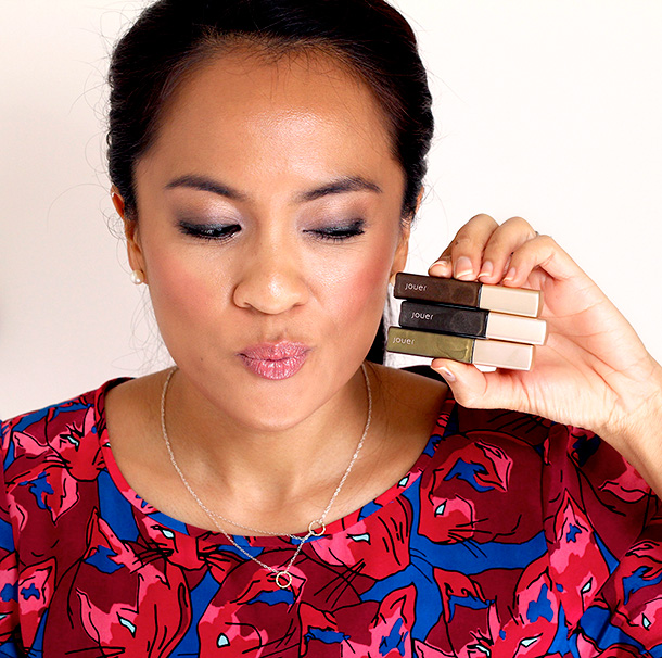 Jouer Liquid Shimmer Eyeliner in Jouer Liquid Shimmer Eyeliners in Leopard, Panther and Lynx