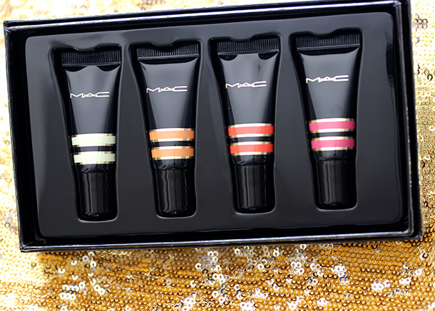 MAC Nocturnals Mini Tinted Flavoured Lip Conditioner Kit ($32.50 US and $38.50 CAN)