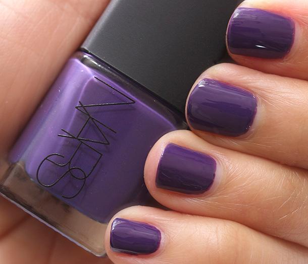 NARS Dance Dance Dance Nail Polish, a bright purple