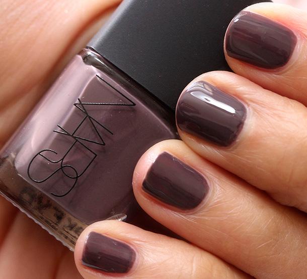 NARS Manosque Nail Polish, a deep smoky lavender