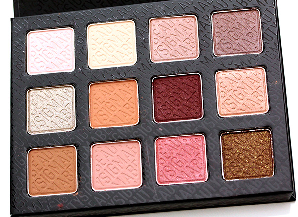 Sigma Eye Shadow Palette - Warm Neutrals, $39